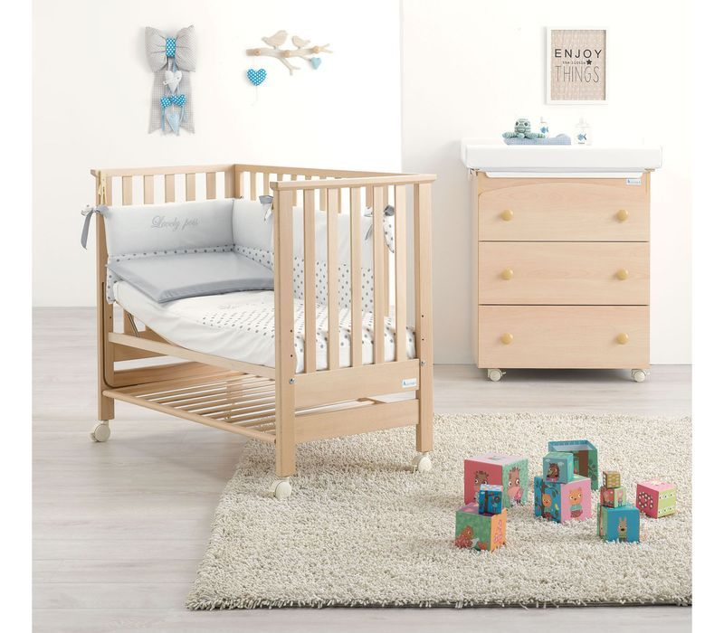 Lettino Contact naturale, co-sleeping