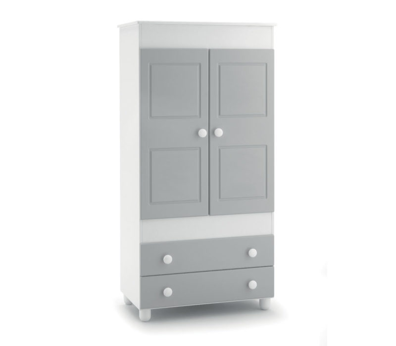 Azzurra Design armadio Noa grigio